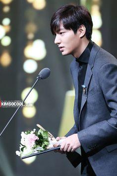 Lee Min Ho - 2014 Korean Popular Culture & Arts Awards (141117)