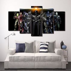 Style Your Home Today With This Amazing 5 Panel Game Dead Space Character Framed Canvas Wall Art For $44.00  Discover more canvas selection here http://www.octotreasures.com  If you want to create a customized canvas by printing your own pictures or photos, please contact us.