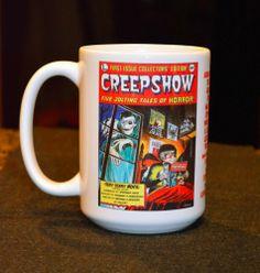 CREEPSHOW 15 oz ceramic coffee mug George Romero horror movie
