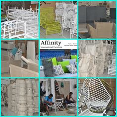 Our packaging For more information: www.affinityinternationalfurniture.com