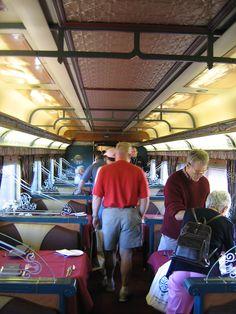 9th April 2006 Keswick - Interior DF 232 Queen Adelaide Gold Kangaroo dining car