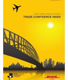 DHL/BCC Trade Confidence Index Q4 2012 with a focus on trading with Australia