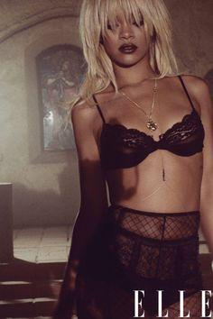Rihanna in ELLE.
