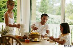 Le repas en famille, c'est l'alimentation santé
