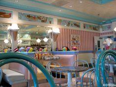 Dining Area Of Beaches & Cream Soda Shop