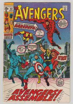 Avengers Vol 1 82 Bronze Age Comic Book. FN. by RubbersuitStudios #avengers #spiderman #daredevil #comicbooks #etsy