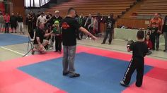 2014-04-12 DM der ISKA Tyler Felde Halbfinale Kickboxen-LK -33Kg - Sugam...