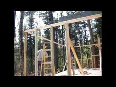 """""""Backwoods Cabin"""" The Beginning. Cutting The Driveway. - YouTube"""