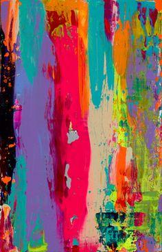 "Saatchi Online Artist Mariya Starr; Painting, ""Liquid Mind"" #art #color #love #bright #fun"