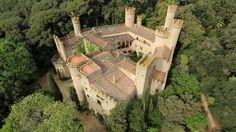 "Santa Florentina Castle, Canet de Mar, Barcelon (""Game of Thrones"" is going to film here)"