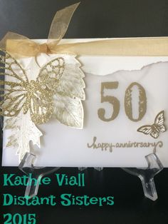 50th anniversary by aloeviall - Cards and Paper Crafts at Splitcoaststampers