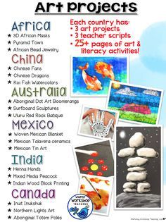 Art lessons from around the world
