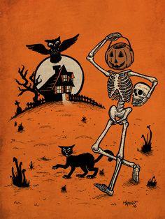 ~Pumpkin Pail Head~ Travis Haight