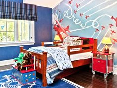 Whether you want to incorporate a theme in a small way or go completely over the top, we asked designers for their top tips to creating a themed kid's room.