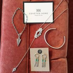 You can now shop our jewelry at @covetedhome on the Country Club Plaza in Kansas City! If you haven't been into this store do it! You will walk in wanting everything and you will leave wanting to redecorate your home.  • • • • #sierrawinterjewelry #jewelry #finejewelry #silver #gold #turquoise #covetedhome #homedecor #homegoods #lifestyle #vintage #decorate #design #interiordesign #abode #KCMO #KansasCity #shoplocal #supportlocal #smallbusiness #shoplocalKC