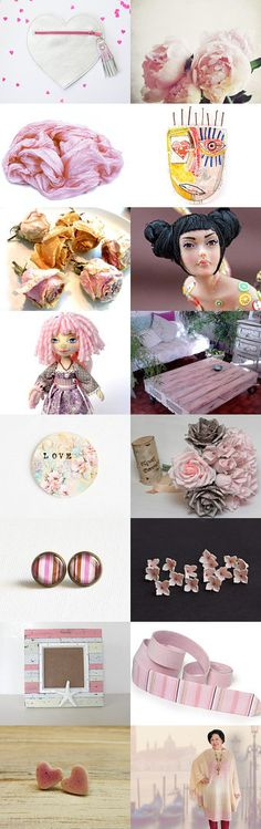 Pearl ♥ Blush by Laura P. on Etsy--Pinned with TreasuryPin.com
