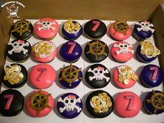 Girl Pirate Cupcakes