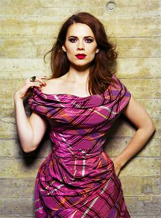"English actress Hayley Atwell as Peggy Carter from ""Captain America: The First Avenger"" (2011)"