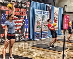 The womens killing it in Biathlon Jerk at Naturally Fit Expo in Austin. #kettlebellsport #kettlebells #kettlebell