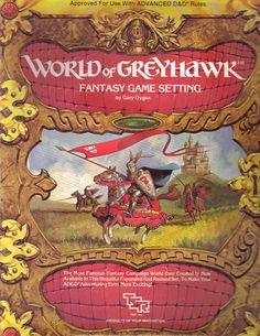 World of Greyhawk--I traded my set over twenty years ago and still regret the choice.