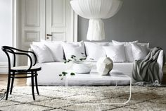 Comfortable and snug with removable covers, #westofmay brings you the #Gervasoni Ghost sofa