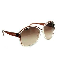 Take a look at this Brown Guadeloupe Sunglasses - Women by Michael Kors on #zulily today!