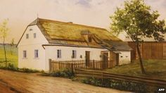 Farmstead, painted by Hitler in 1914