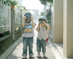 NEED to take one of these of mine when there this age... Cute!
