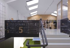Image 4 of 30 from gallery of Where You Work: The Offices of ArchDaily Readers. Photograph by Equipoeme Estudio Industrial Architecture, Co Working, Office Workspace, The Office, How To Find Out, Gallery, Offices, Design, Spain