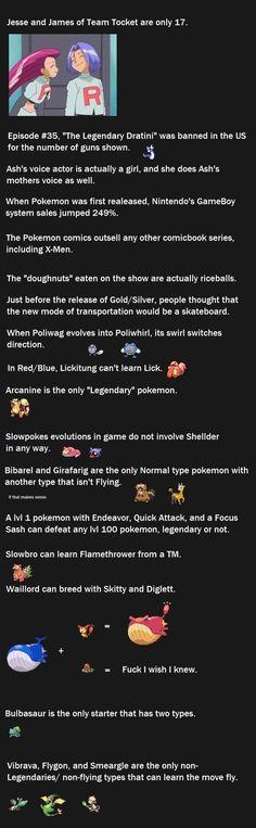 Funny Pokemon Facts 4