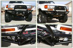 Custom Bumper For Toyota Land Cruiser - Bumping It Off Road