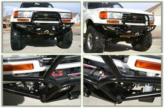 Custom Bumper For Toyota Land Cruiser - Bumping It Off Road
