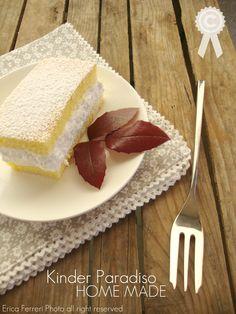 Ogni riccio un pasticcio: Kinder Paradiso Home Made: la mia torta paradiso :)