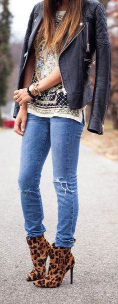Leather and Skinnies