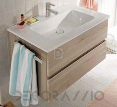 #bathroom #furniture #interior #design #interiordesign #designideas тумба под умывальник Burgbad Bel, SEZY083