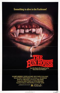 The Funhouse 1981 American horror film directed by Tobe Hooper.