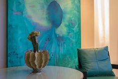 Farbenfrohes #Design im Hotel Eden Roc in Ascona #edenrocascona #edenmoment #CarloRampazzi Design Hotel, Hotel Eden, Das Hotel, Around The Worlds, Hotels, Painting, Art, Switzerland, Art Background