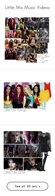 """""""Little Mix Music Videos"""" by lauren-beth-owens ❤ liked on Polyvore featuring art, J Brand, River Island, Vans, Paul Smith, WearAll, Warehouse, Topshop, McQ by Alexander McQueen and M&Co"""
