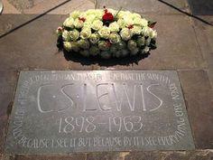 The #CSLewis Memorial in Poets' Corner - Westminster Abbey. #MemorialDay