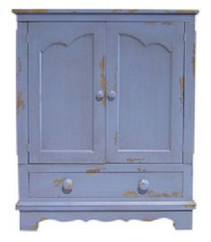 Lorraine ENTERTAINMENT CENTER French Cabinet 25 Country Paints Old World Stains #EntertainmentCentersTVSta