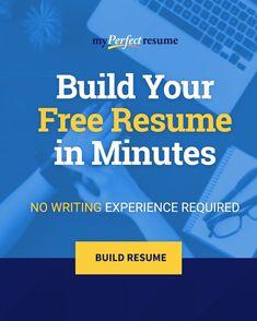 Resume Help, Job Resume, Resume Tips, Resume Examples, Resume Ideas, Job Interview Questions, Job Interview Tips, Perfect Resume Example, Free Resume Builder