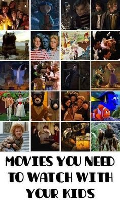 89 Incredibly Wonderful Movies You Need To Watch With Your Kids Get some snacks and settle in for family movie night. Best Kids Watches, Good Movies To Watch, Good Movies For Kids, 90s Kids Movies, Best Kid Movies, Awesome Movies, Family Movie Night, Top Family Movies, About Time Movie