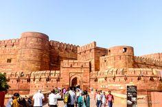 Entrada do Forte de Agra