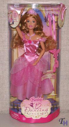 Barbie in the 12 dancing princess Fallon Doll