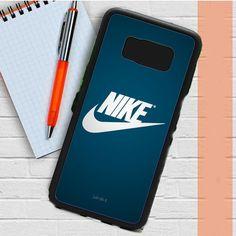 Nike Blue Samsung Galaxy S8 Plus Case Dewantary