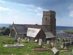 Wembury Church, Devon, England. Knotts worshipped here.