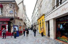 Medieval Paris: A Walking Tour of the Marais,  Remnants of Roman and medieval Paris.