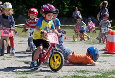 About 150 children took part in the 4th annual Bike N Juice race at the Leavenworth Ski Hill on Saturday. (World photo/Don Seabrook)