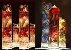 Flores sumergidas