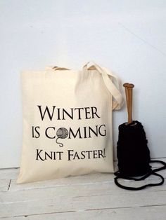 knittomania:  I better hurry! So behind already ;) https://www.etsy.com/listing/130430882/winter-is-coming-knitting-bag-yarn-bag?